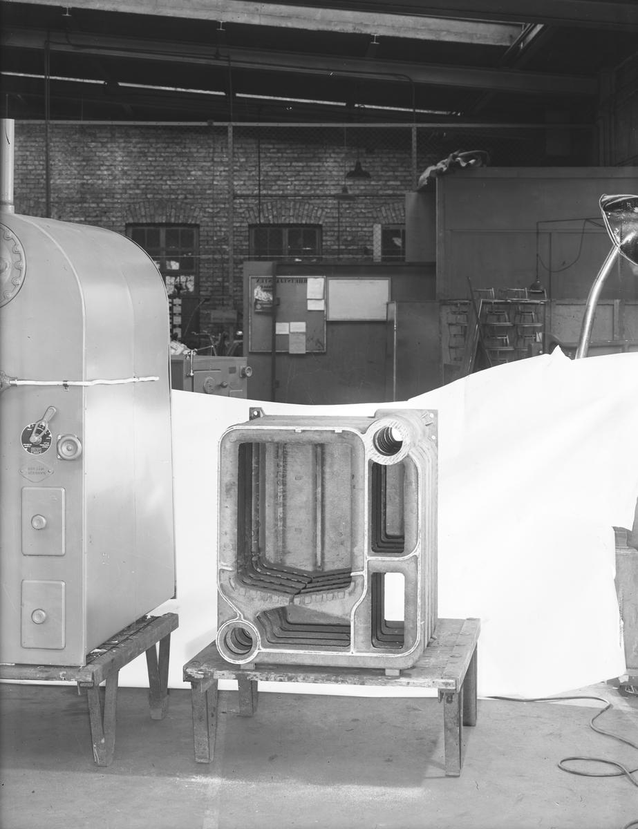 Värmepaket till Panna Startade en fabrik i Strömsbro 1953