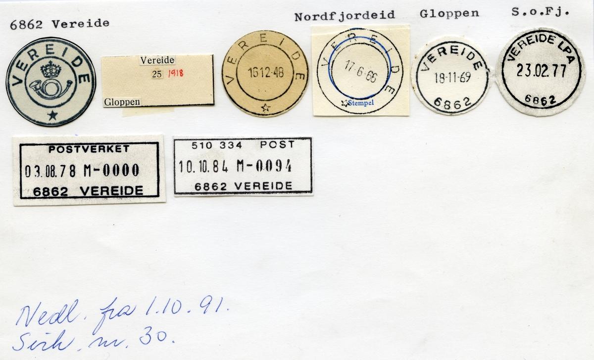 6862 Vereide, Nordfjordeid, Gloppen, Sogn og Fjordane