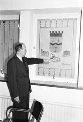 Nya Telegraf- och posthuset. Interiör. 22 september 1948.