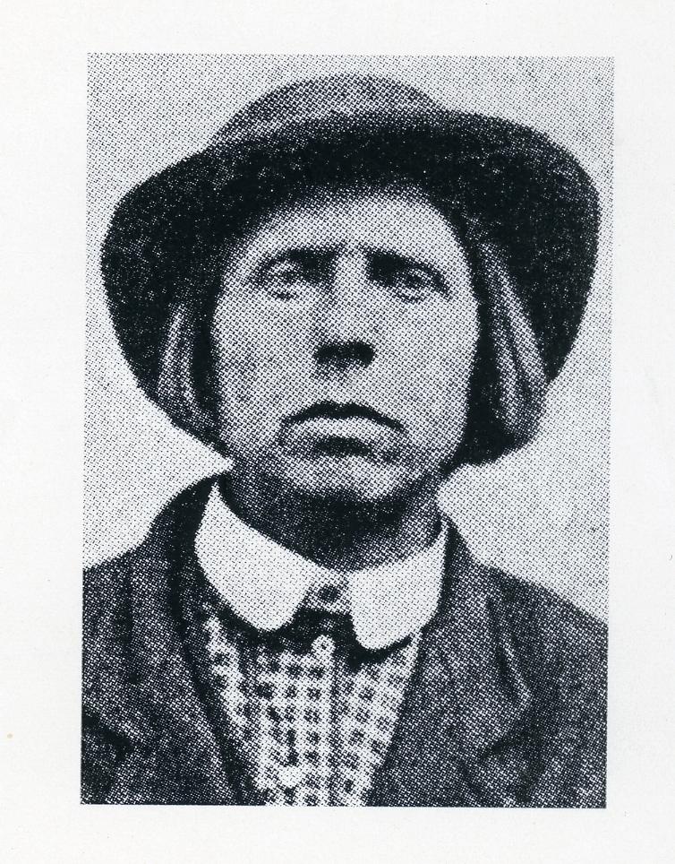 Portrett av ukjendt mann.