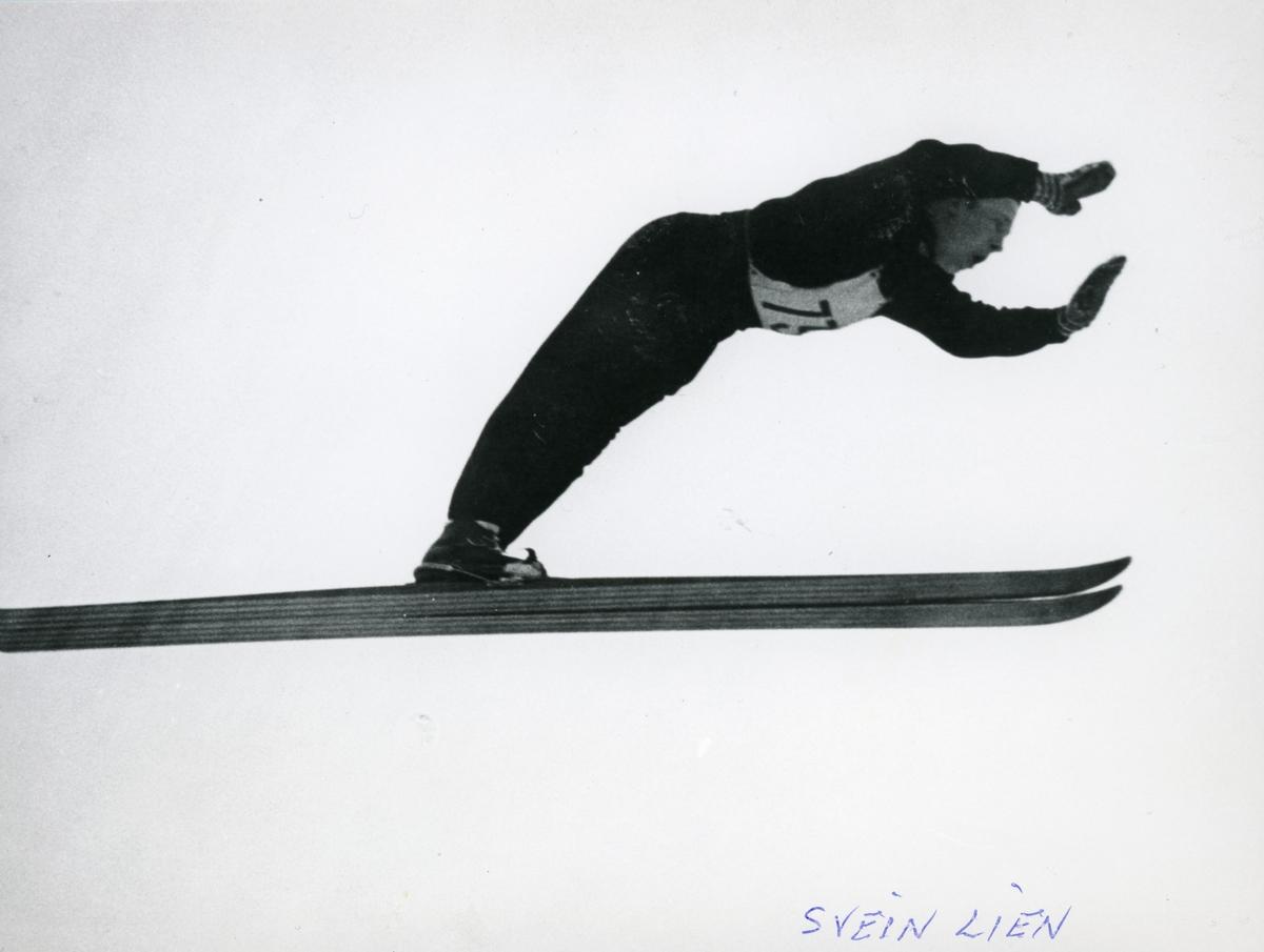 Athlete Svein Lien in action
