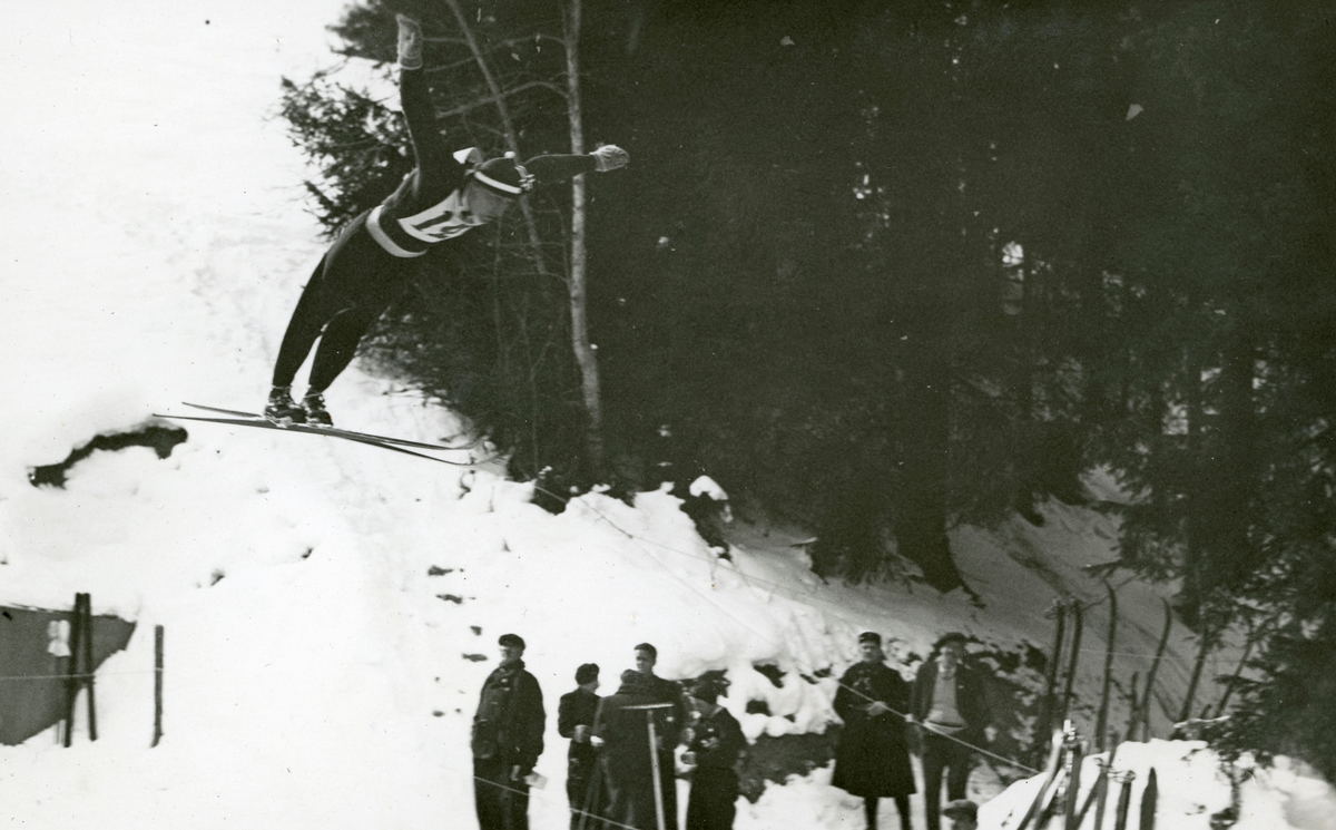 Norwegian athlete during French championship