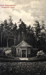 Postkort, Wergelands lysthus,NF.