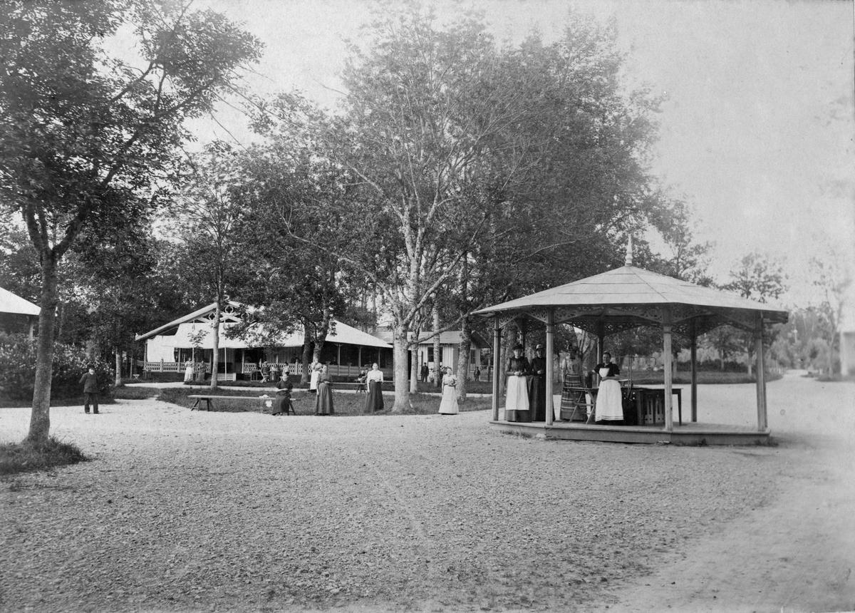 Johannisdals hälsobrunn, 1890-talet.