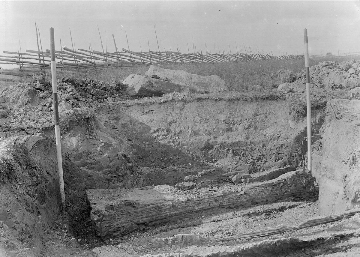 Kistgrav, Väsby Haga eller Mälby, sannolikt Uppland 1918