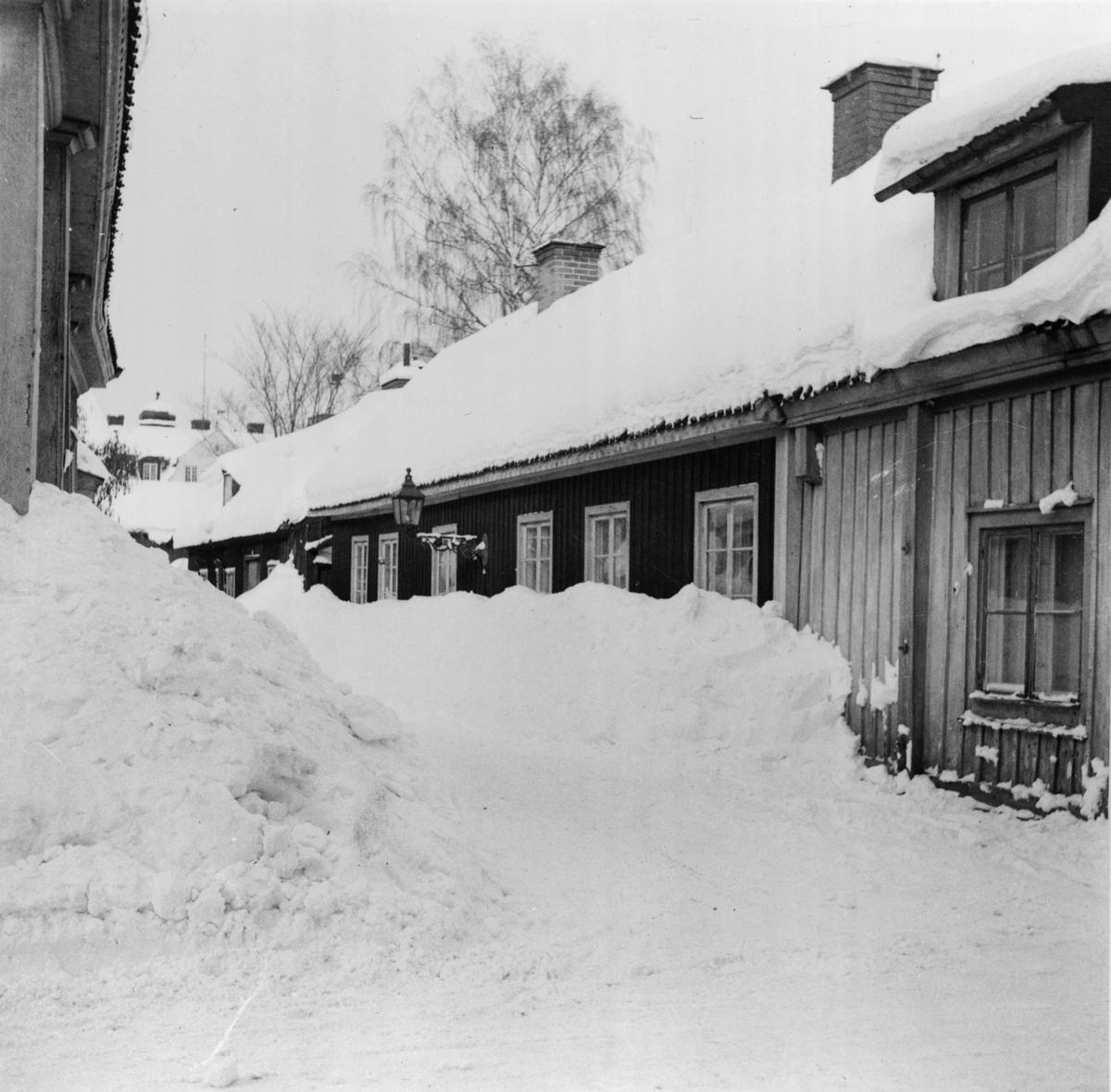 Ruddamsgränd från Västra Islandsgatan. Fotograferat 1953.
