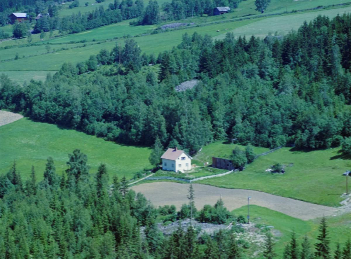 Flyfoto, Lillehammer, Søre Ål, Nordeng, senere Jean Heibergs veg 25A