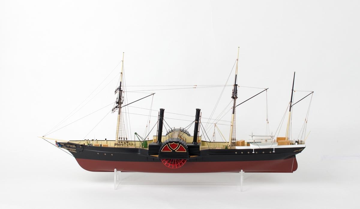 Hjuldampskip BERGEN