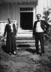 """""""Den historiske tur til Veøy 06.07.1937""""..""""Herskapet til Veø"""
