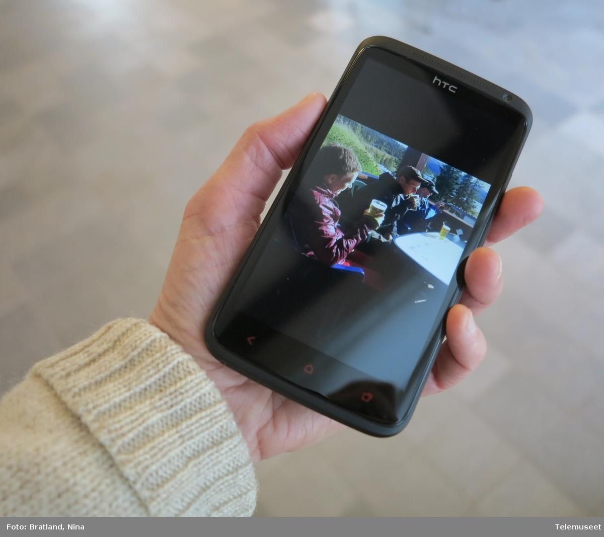 Smarttelefon HTC foto