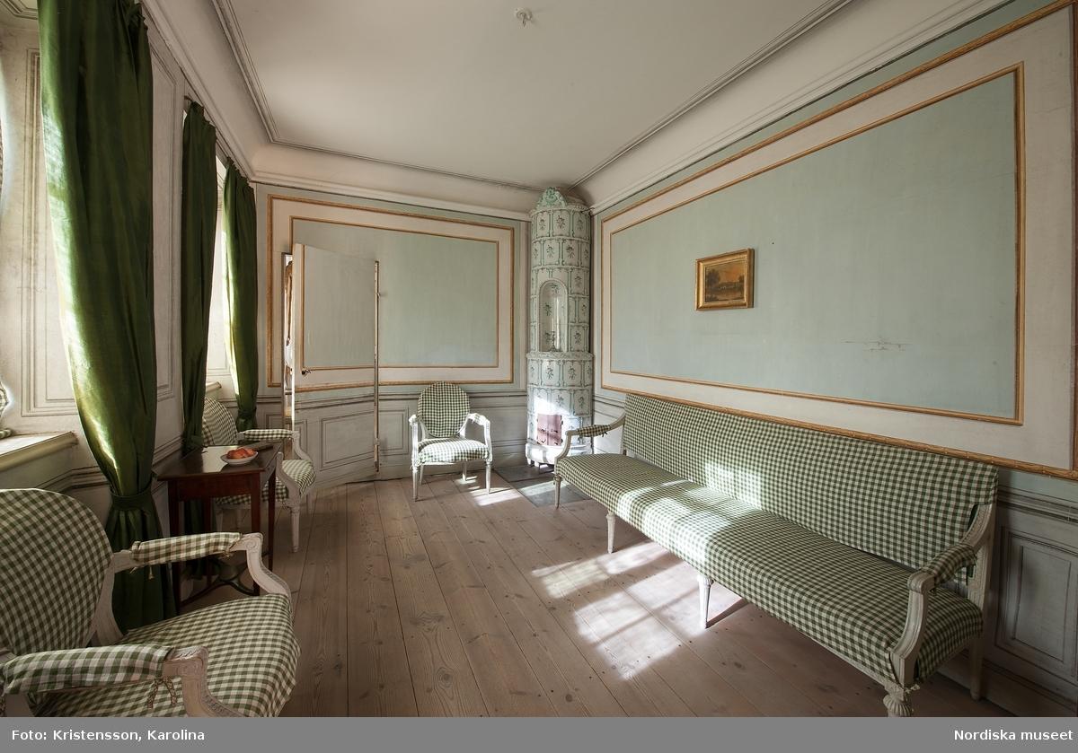 Svindersvik, Paviljongen, interiör
