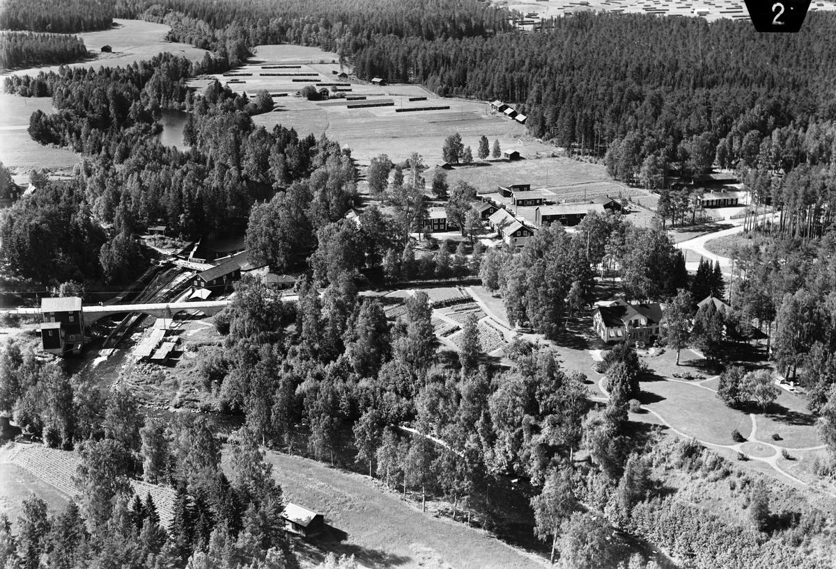 Friggesund, Hälsingland. Svågans vatten