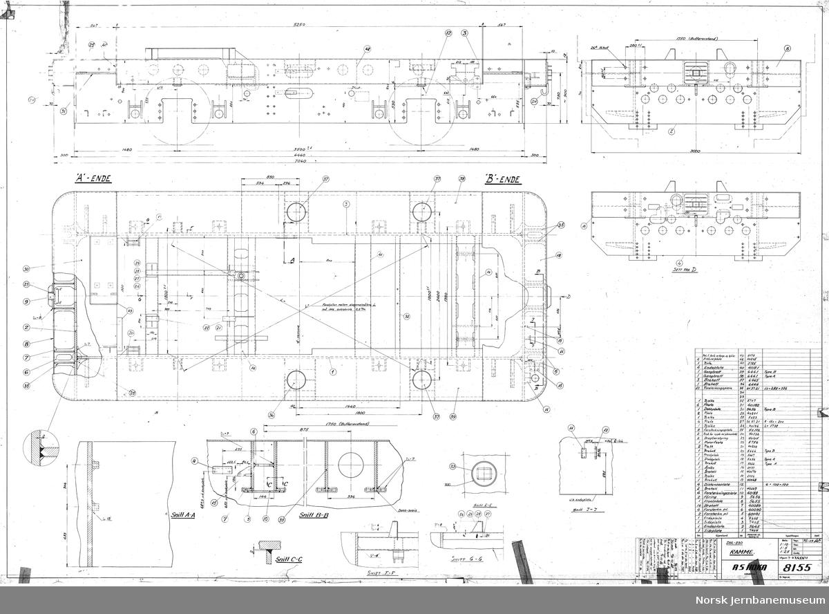 HØKA DHL-230 Ramme  Prosjekt, ikke realisert (senere videreutviklet til NSB Skd 221)