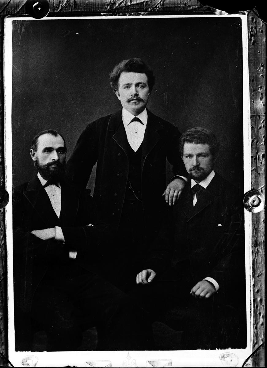 Bengtsson. Tre herrar. Kopia