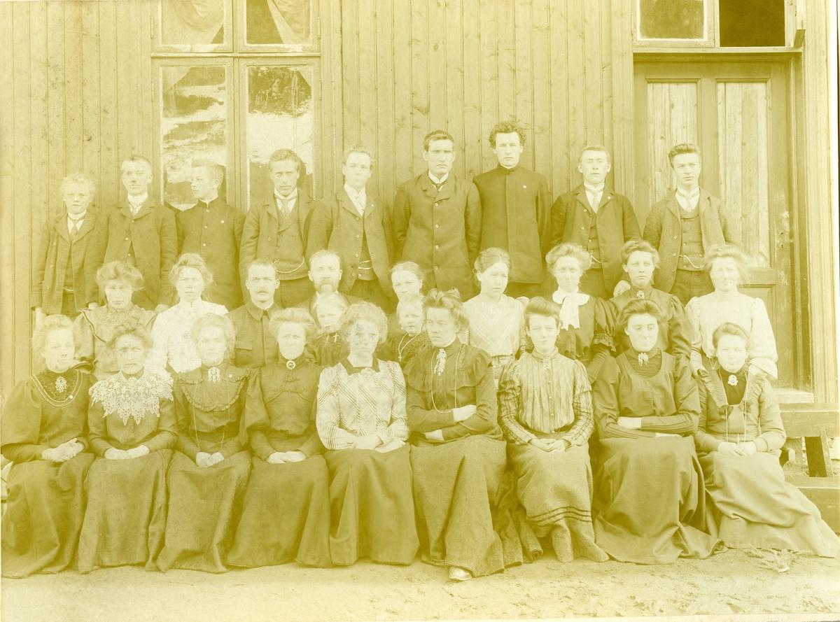 Folkehøgskulen på Fagernes i 1906-07.