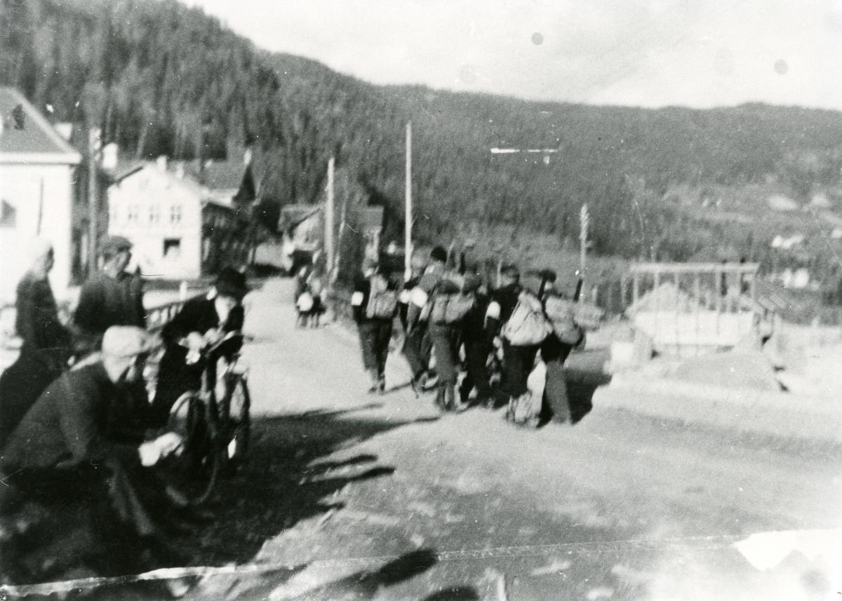 Heimefrontsoldatar frå frigjeringa mai 1945.