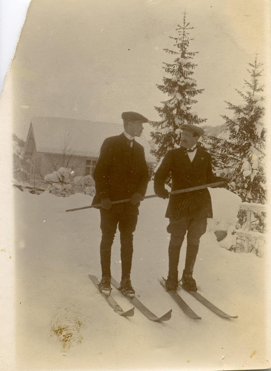 Albert Garli og Arne Lunde.