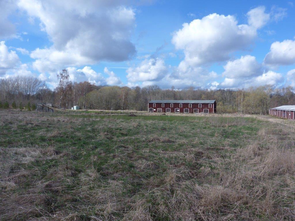 Orig. text: Bilder från Smedstad den 11 april 2014.Innan rivningen av byggnaderna.