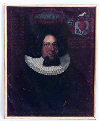 Presteportrett Peder Nyborg.