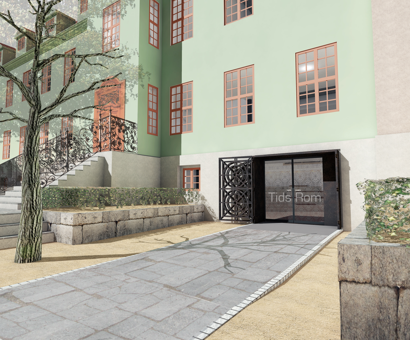 Bybygg, nytt inngangsparti. (Foto/Photo)