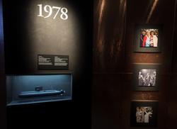 Utställning i ubåtshallen. Marinmuseum, Karlskrona