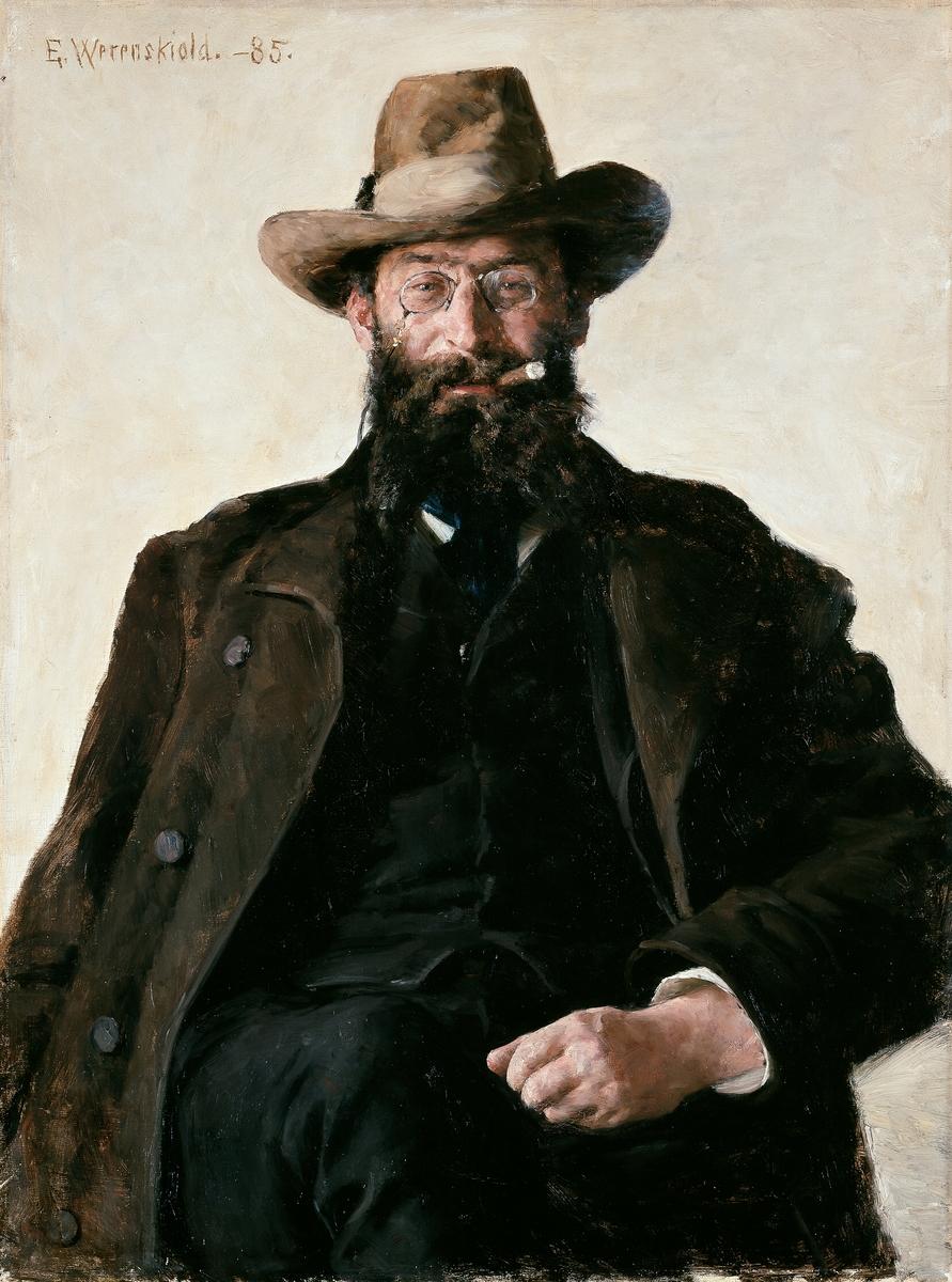 Professor Amund Helland [Maleri]