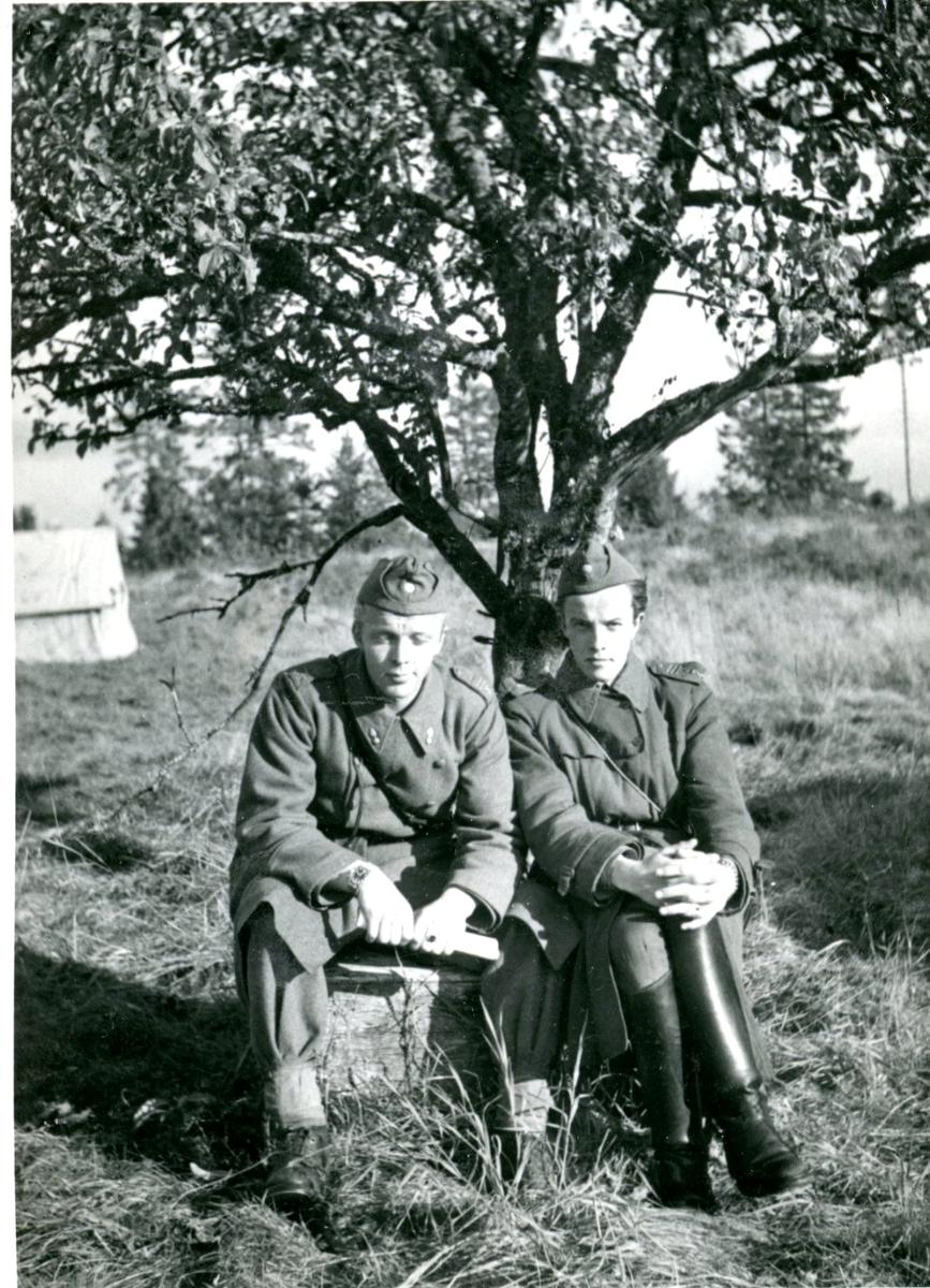 Villingsberg, Närke. Fälttjänst (Två man).