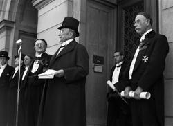 """""""Solenna promotioner i fyra fakulteter"""", Uppsala 1943"""