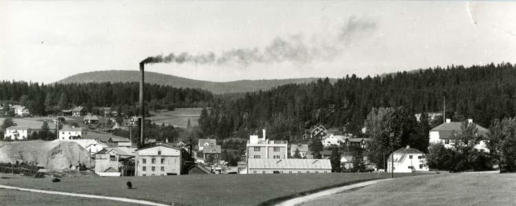 Midnäs industri i Rengsjö 1951.
