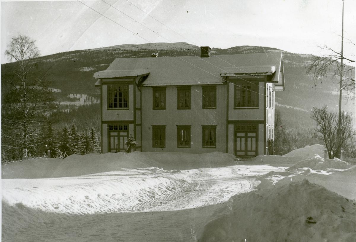 Hovedbygningen, Nerby i Hedalen, Sør-Aurdal.