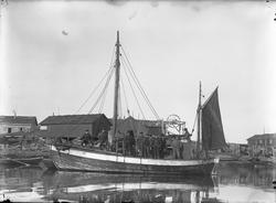 Fiskeskøyte Reg. R497