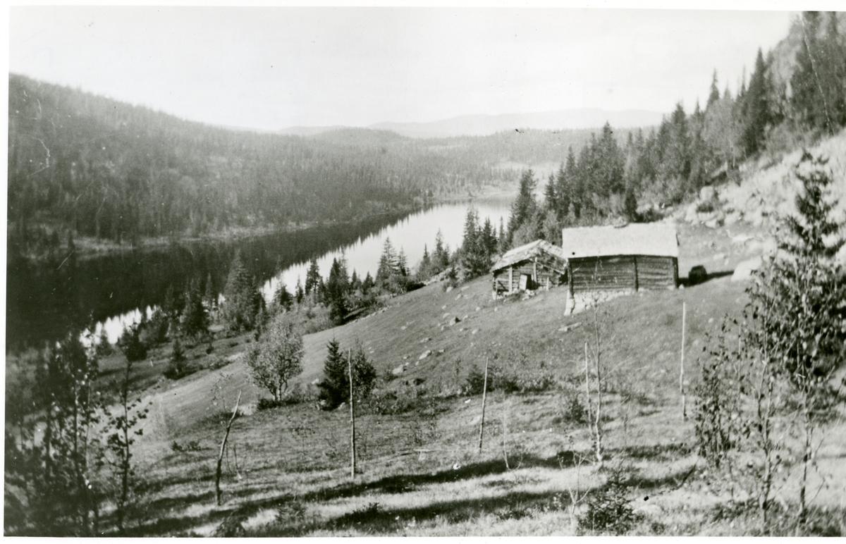 Høstseter til Brattrud ved Ranangen, vestre Bagn, Sør-Aurdal