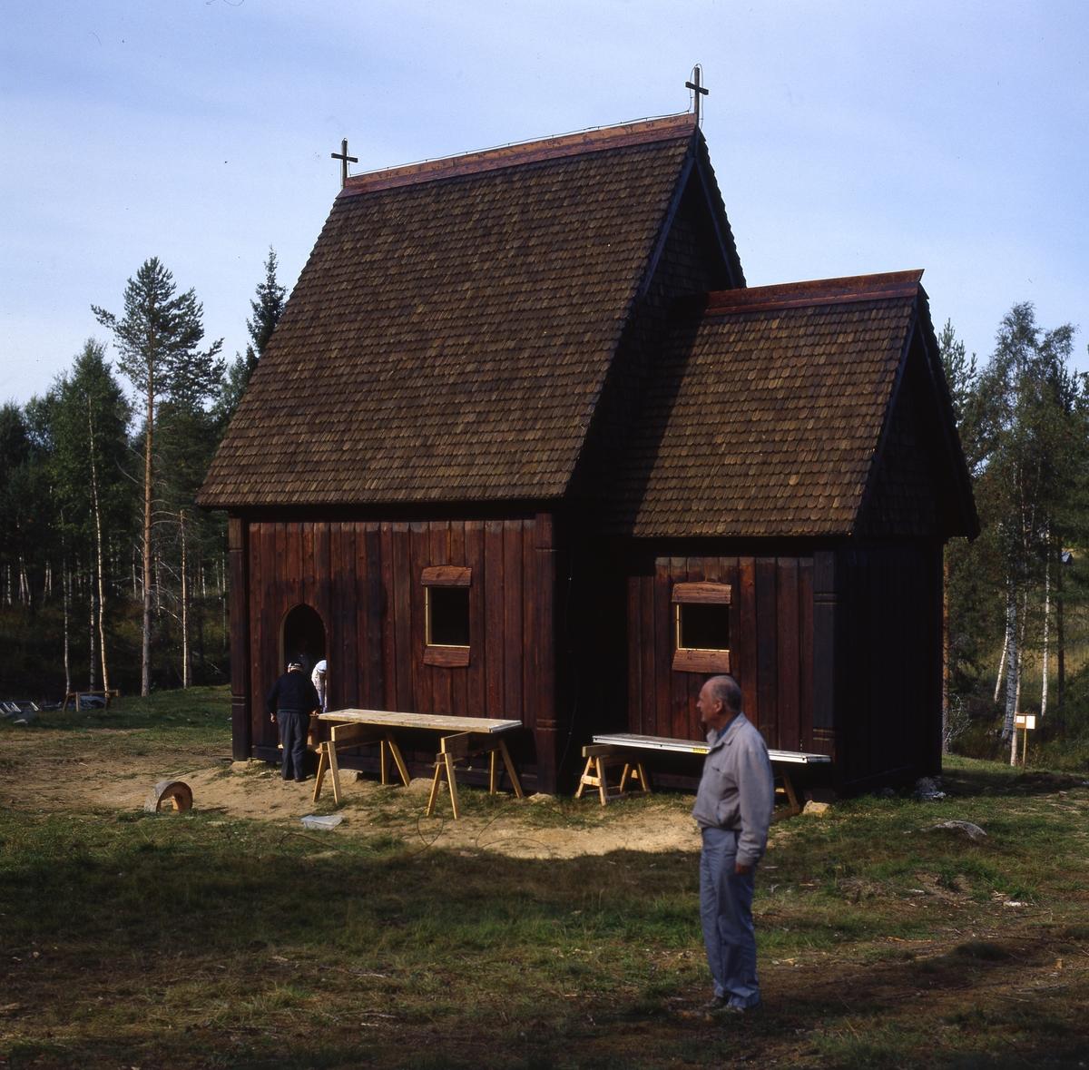 St: Olofs Offerkyrka i Kårböle uppförd år 1989, längs pilgrimsvägen till Trondheim i Norge.