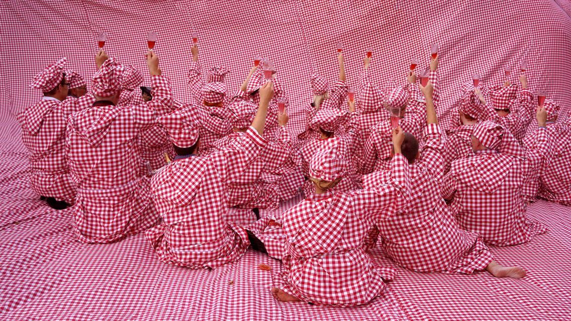 """Svein Ove Kirkhorn: """"Picnic"""", som blir del av uteromsprosjektet på Ravnkloa. Foto Svein Ove Kirkhorn"""