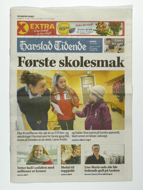 Harstad Tidende (Foto/Photo)