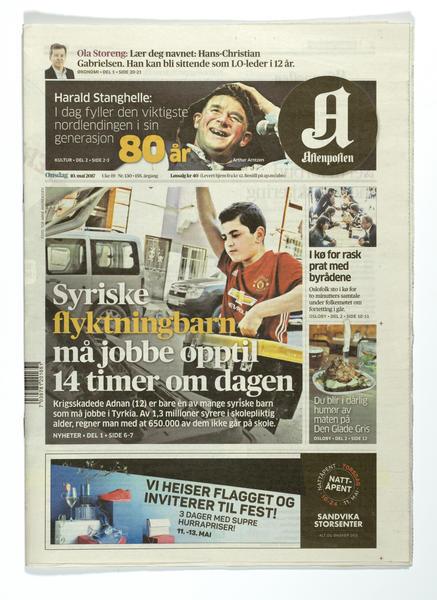 Aftenposten. Foto/Photo