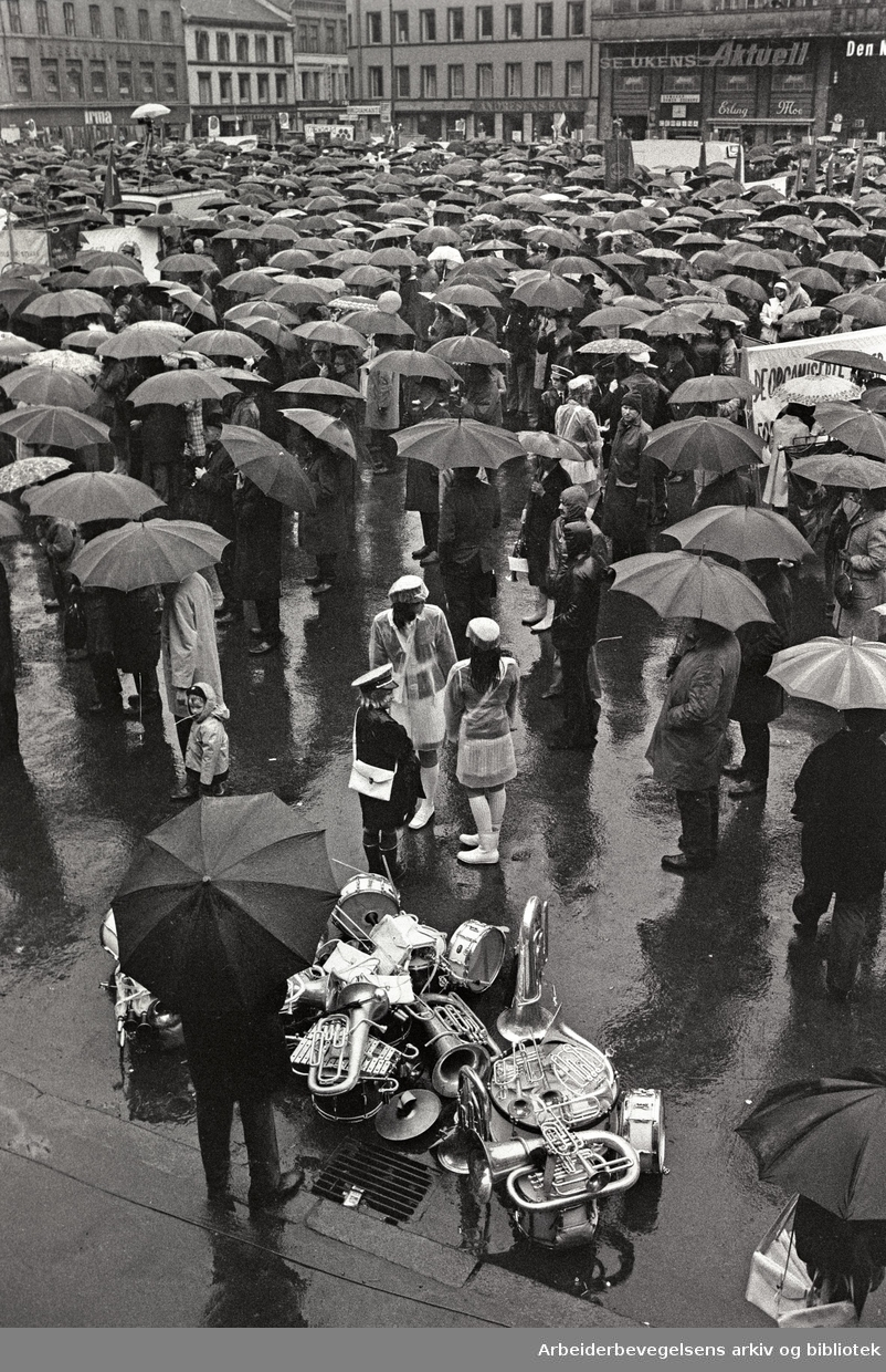 1. mai 1973, Youngstorget.