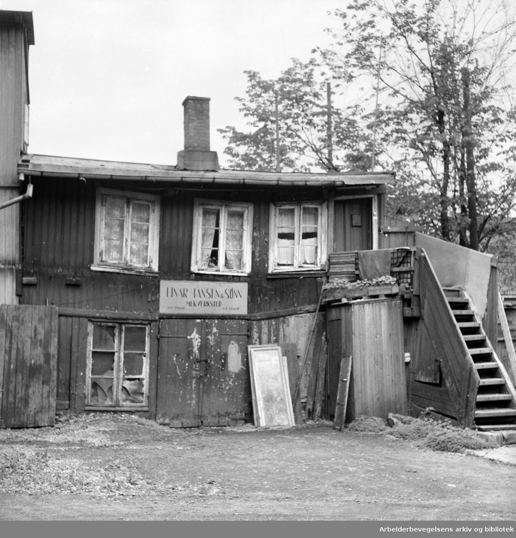 Hammerfestgata 14. Juni 1956