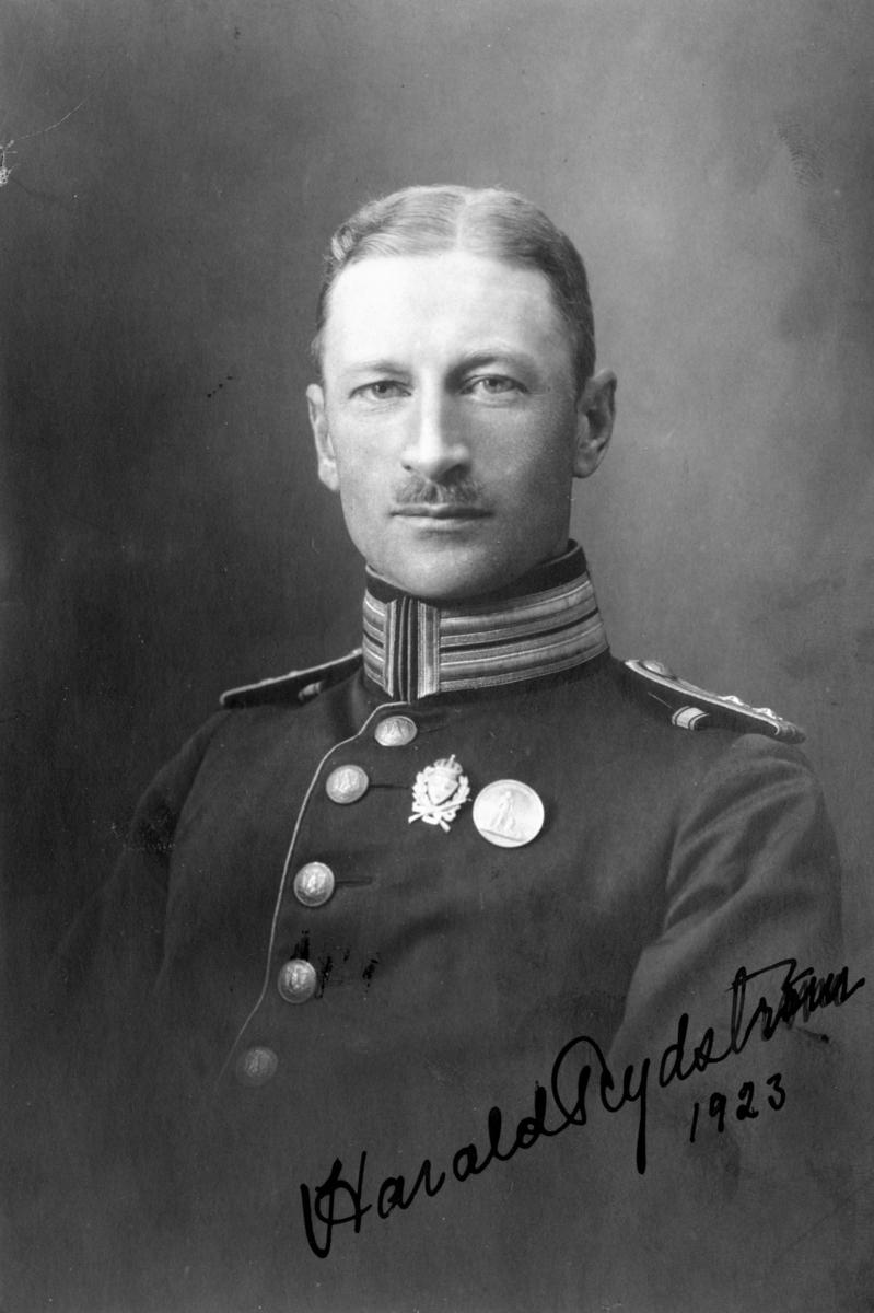 Rydström, Harald, löjtnant I 18.