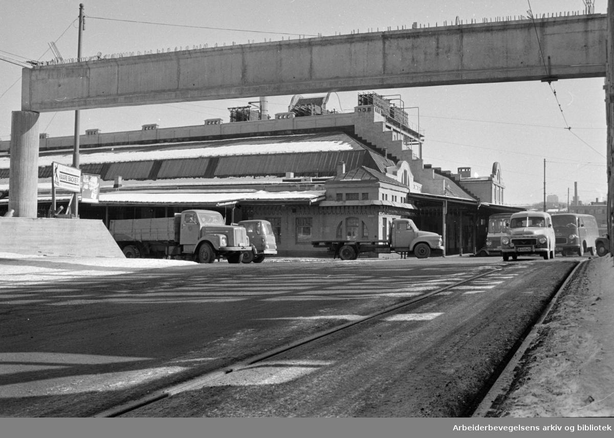 Slakterhuset på Grønland, mars 1969.