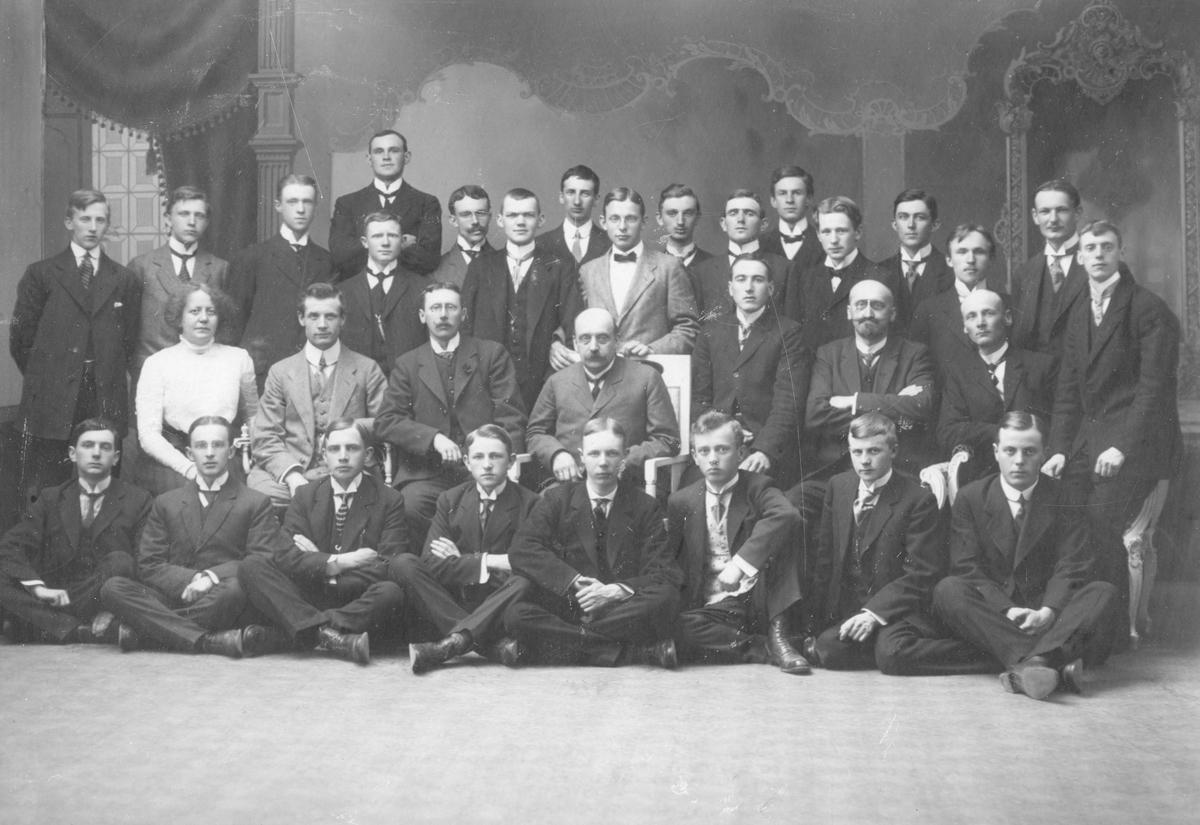 Telegrafkurs 1909-1911