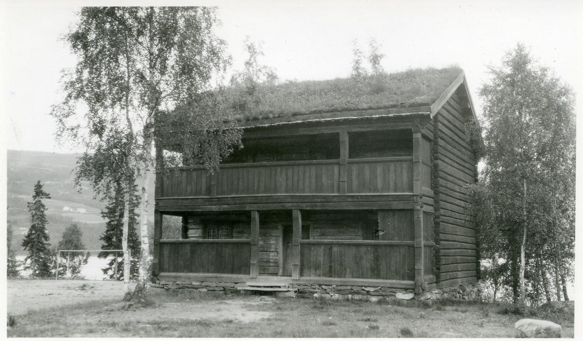 Haftonbygningen på Valdres Folkemuseum.