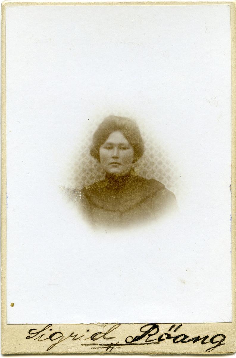 Sigrid Røang.