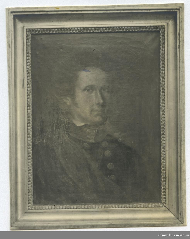 Medicine doktor August Wilhelm Brunius. 1795-1867. Provinsialläkare på Öland 1825-55. Okänd 0261.