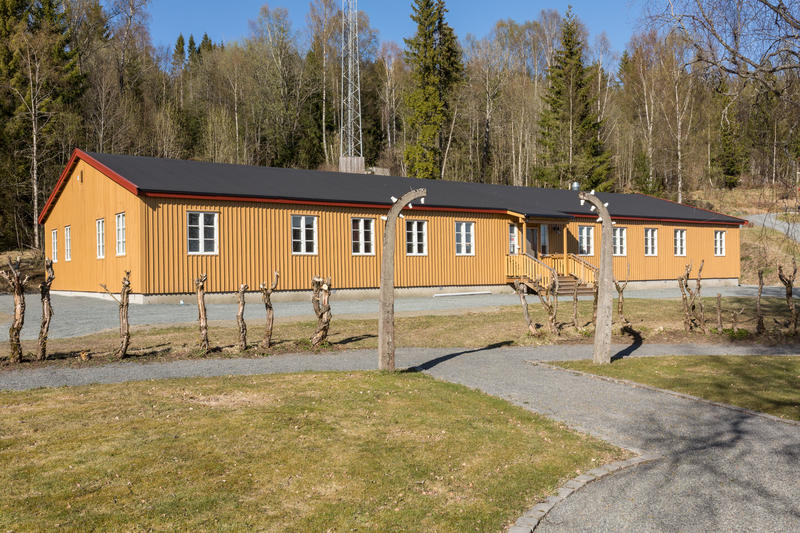 This barracks was moved from the prison camp after the war. It was restored here in 2015, and is now part of the Grini Museum. Photo: Øivind Möller Bakken, MiA