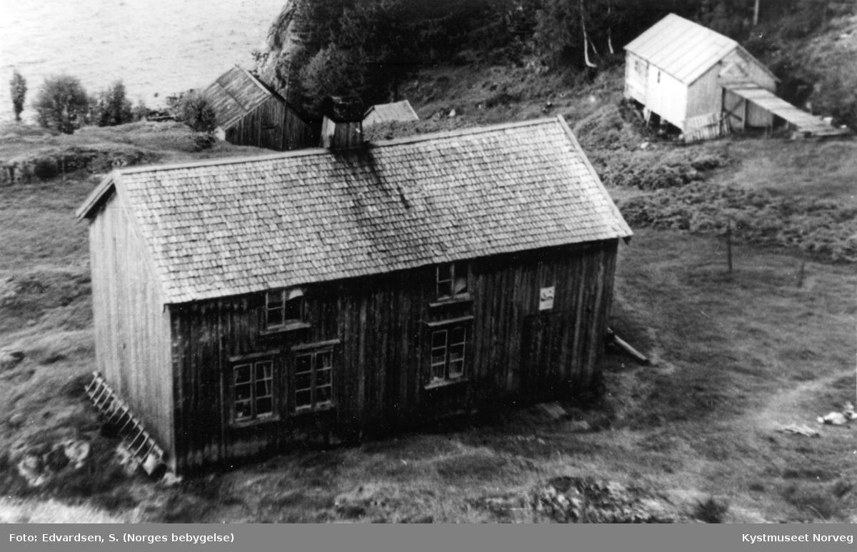 Husmannsplassen Dyrvika under Lund