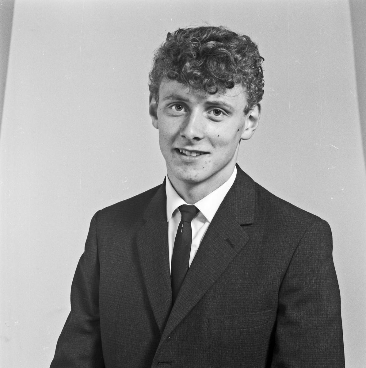 Portrett ung mann - bestiller Arvid Jacobsen