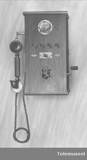 Telefonapparat, prøveapparat. Elektrisk Bureau.
