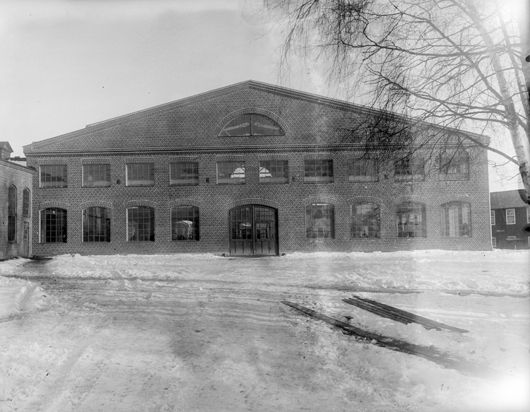 Bildtext: Tidaholms bruk 1929. Samtid förvärv: Tidaholmssamlingen