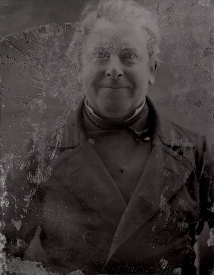 Häradsskrivare Carl Georg Mellström.